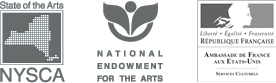 Funded by New York State Council for the Arts, National Endowment for the Arts, and Cultural Services of the French Embassy in the United States